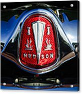 1953 Hudson Hornet Sedan Emblem Acrylic Print