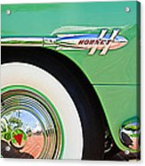 1953 Hudson Hornet Sedan Wheel Emblem Acrylic Print