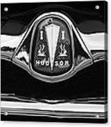 1953 Hudson Twin Hornet Grille Emblem Acrylic Print