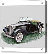 Mg T D 1953 Acrylic Print