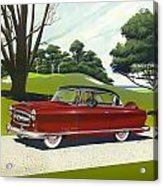 1953 Nash Rambler - Square Format Image Picture Acrylic Print