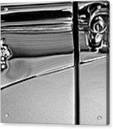 1953 Packard Caribbean Convertible Emblemblem Acrylic Print