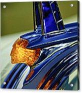 1953 Pontiac Hood Ornament 3 Acrylic Print by Jill Reger