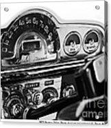 1953 Pontiac Silver Streak Acrylic Print