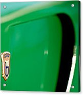 1954 Arnolt Bristol Bolide Emblem Acrylic Print