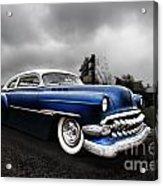 1954 Blue Buick Acrylic Print