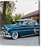 1954 Chevrolet Bel Air Acrylic Print