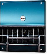 1954 Chevrolet Corvette Grille Emblem -249c Acrylic Print