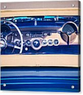 1954 Chevrolet Corvette Steering Wheel -139c Acrylic Print