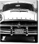 1954 Hudson Hornet In Black Acrylic Print
