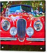1954 Jaguar Xk 120 Se Ots Acrylic Print