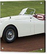 1954 Jaguar Xk120 Roadster  Acrylic Print