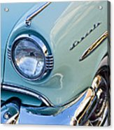 1954 Lincoln Capri Headlight Acrylic Print