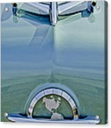 1954 Oldsmobile Super 88 Hood Ornament Acrylic Print
