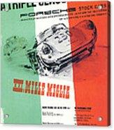 1954 Xxi Mille Miglia Acrylic Print