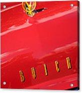 1955 Buick Roadmaster Hood Ornament - Emblem Acrylic Print