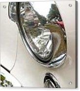 1955 Buick Special Headlight Acrylic Print