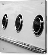 1955 Buick Special Side Air Vents Acrylic Print