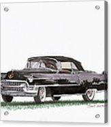 1955 Cadillac Series 62 Convertible Acrylic Print