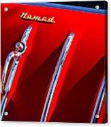 1955 Chevrolet Belair Nomad Hood Ornament -559c Acrylic Print
