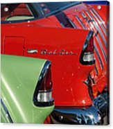 1955 Chevrolet Belair Nomad Taillights Acrylic Print