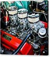 1955 Chevy 327 Acrylic Print