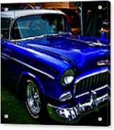 1955 Chevy Bel Air Acrylic Print by David Patterson
