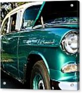 1955 Chevy Bel Air Down The Side Acrylic Print