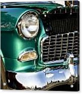 1955 Chevy Bel Air Grill Acrylic Print