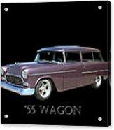 1955 Chevy Handyman Wagon Acrylic Print