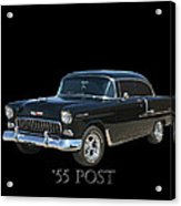 1955 Chevy Post Acrylic Print