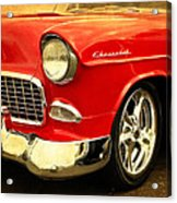 1955 Chevy Red Acrylic Print