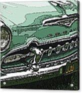 1955 Desoto Grille Acrylic Print