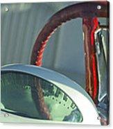 1955 Ford Thunderbird Steering Wheel Acrylic Print