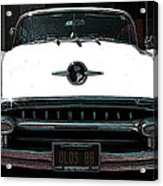 1955 Oldsmobile 88 Acrylic Print