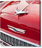 1955 Red Chevy Acrylic Print