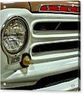 1955 Studebaker Headlight Grill Acrylic Print