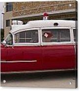1955 Superior Cadillac Passenger Ambulance Acrylic Print