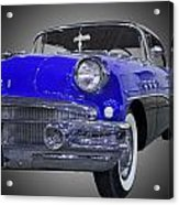 1956 Buick Special Riviera Coupe-blue Acrylic Print