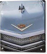1956 Cadilac Sedan De Ville Smiling Acrylic Print