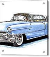 1956 Cadillac Coupe De Ville Acrylic Print