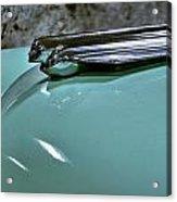1956 Cadillac Lasalle Hood Ornament Acrylic Print