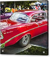 1956 Chevrolet Bel Air 210 Acrylic Print