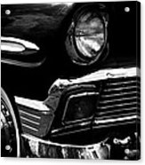 1956 Chevrolet Bel Air Acrylic Print by David Patterson