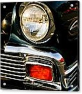 1956 Chevy Bel Air Head Light Acrylic Print