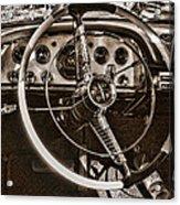 1956 Desoto Dash Acrylic Print