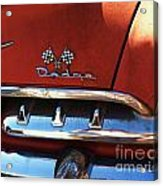 1956 Dodge 500 Series Photo 2b Acrylic Print by Anna Villarreal Garbis