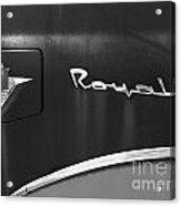 1956 Dodge 500 Series Photo 3 Acrylic Print by Anna Villarreal Garbis