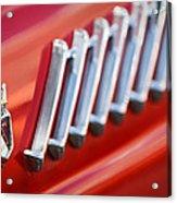 1956 Ford Thunderbird Emblem -278c Acrylic Print