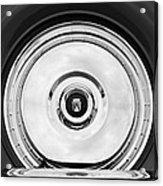 1956 Ford Thunderbird Spare Tire Emblem Acrylic Print